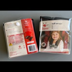 Bundle: NWT Diono Soft Seat Belt Wraps